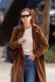 Katie Holmes Out for a Coffee in New York 2018/10/04 7