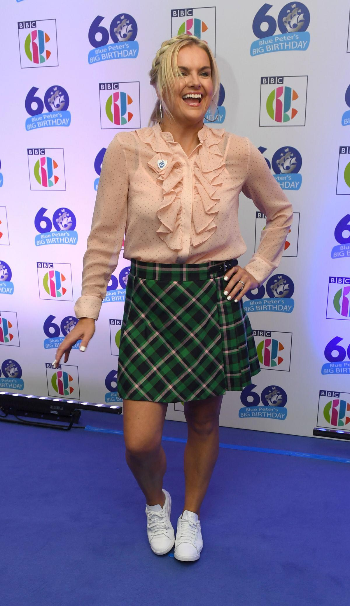 Katy Hill at Blue Peter's Big Birthday 60 Years Celebration in London 2018/10/16 1