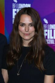 Keira Knightley at Benjamin Premiere at 2018 BFI London Film Festival 2018/10/19 2