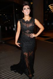 Kym Marsh Arrives at Hilton Hotel in Manchester 2018/10/13 2