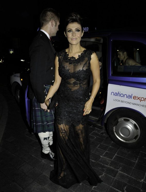 Kym Marsh at Manchester Fashion Festival at Midland Hotel 2018/10/13 1