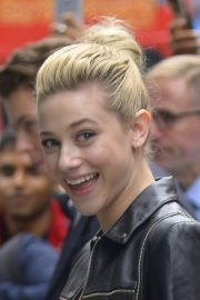 Lili Reinhart Arrives at AOL Build in New York 2018/10/08 1