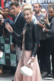 Lili Reinhart Arrives at AOL Build in New York 2018/10/08 7