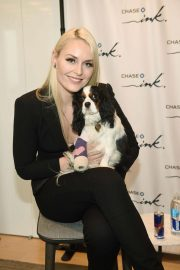 Lindsey Vonn at Beyond the Slopes with Lindsey Vonn: A Small Business Event in New York 2018/10/11 1
