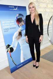 Lindsey Vonn at Beyond the Slopes with Lindsey Vonn: A Small Business Event in New York 2018/10/11 5