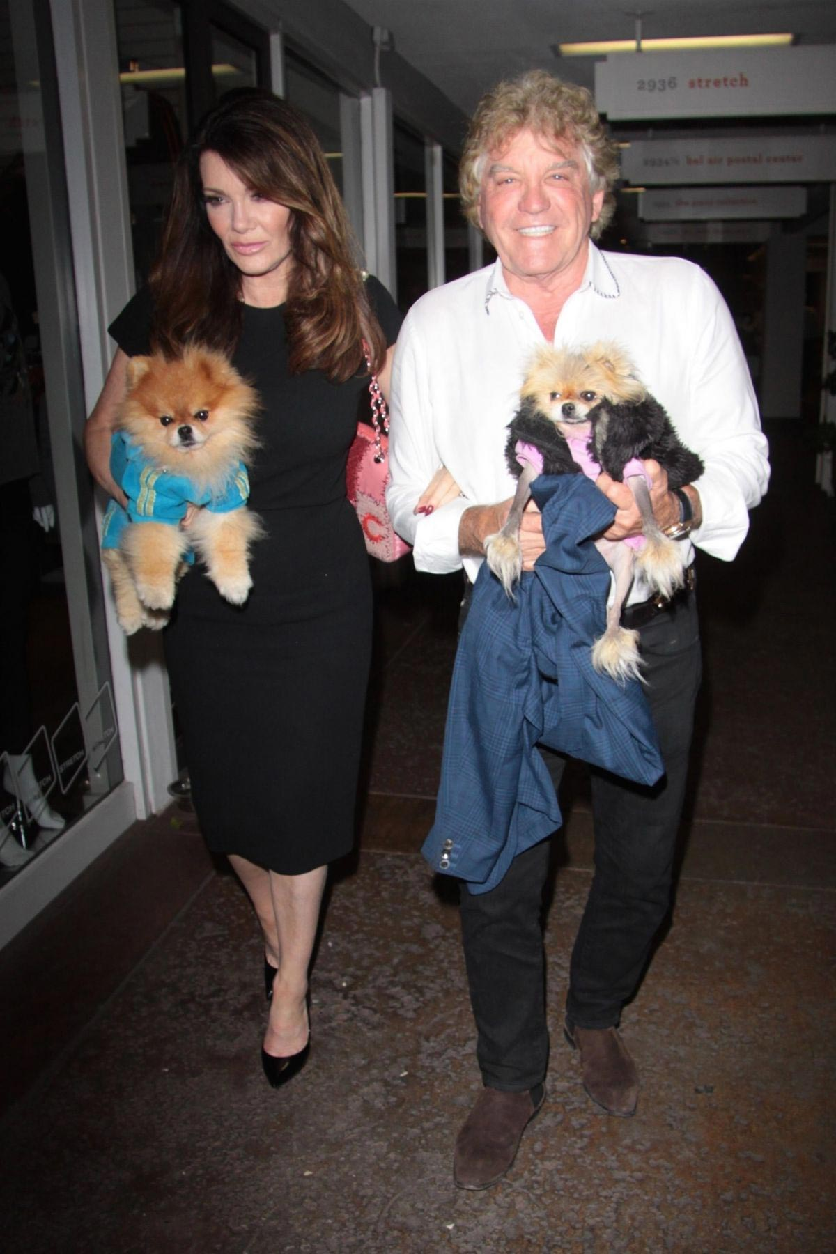 Lisa Vanderpump and Ken Todd at Vibrato Grill Jazz in Los Angeles 2018/10/12 1