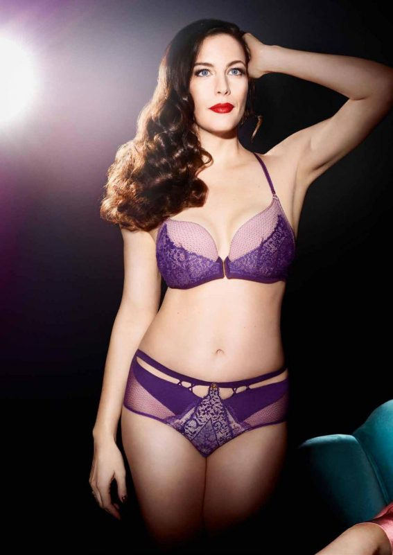 Liv Tyler for Triumph Essence Lingerie, Autumn/Winter 2018 Collection 1
