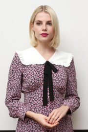 Lucy Boynton at Bohemian Rhapsody Press Conference in Beverly Hills 2018/10/08 1