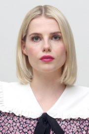 Lucy Boynton at Bohemian Rhapsody Press Conference in Beverly Hills 2018/10/08 2