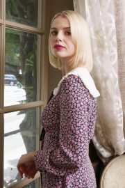Lucy Boynton at Bohemian Rhapsody Press Conference in Beverly Hills 2018/10/08 4