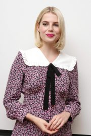Lucy Boynton at Bohemian Rhapsody Press Conference in Beverly Hills 2018/10/08 5