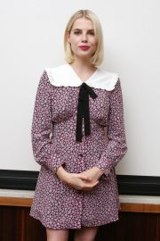 Lucy Boynton at Bohemian Rhapsody Press Conference in Beverly Hills 2018/10/08 8