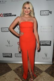 Lucy Fallon at Manchester Fashion Festival at Midland Hotel 2018/10/13 3