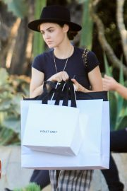 Lucy Hale Out Shopping on Melrose Place in West Hollywood 2018/10/08 2