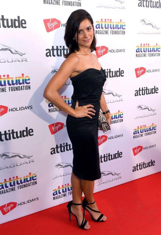 Lucy Verasamy at Attitude Magazine Awards in London 2018/10/11 1