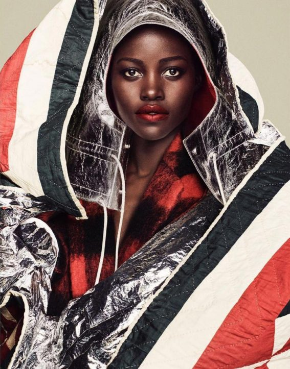 Lupita Nyong'o in Vogue Magazine, Spain November 2018 Issue 1