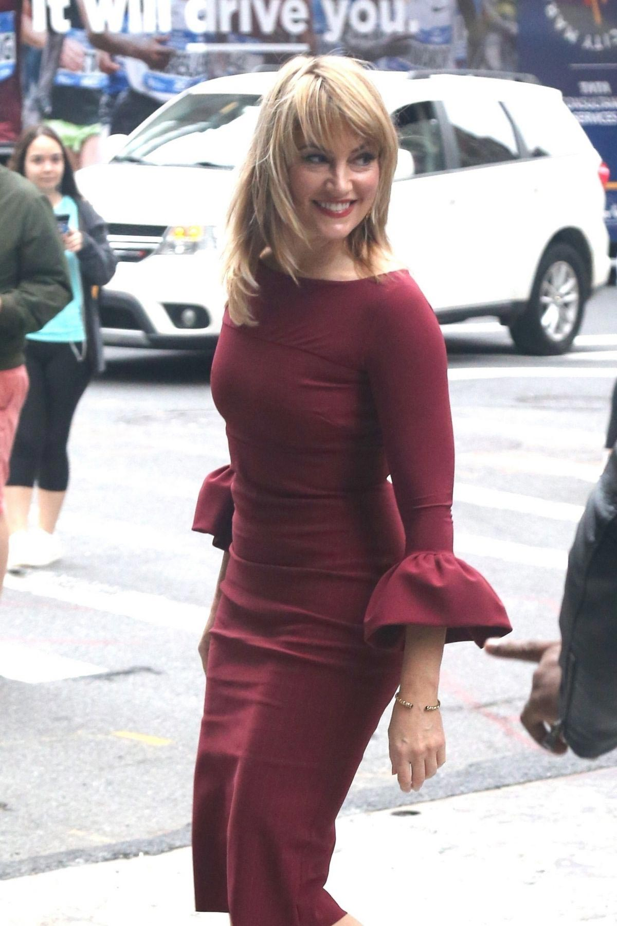 Madchen Amick at AOL Studios in New York 2018/10/08 1