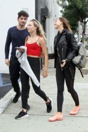 Maddie Ziegler and Alexis Ren Leaves DWTS Rehearsal in Los Angeles 2018/10/14 4