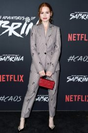 Madelaine Petsch at Chilling Adventures of Sabrina Premiere in Hollywood 2018/10/19 4