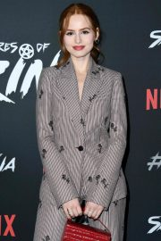 Madelaine Petsch at Chilling Adventures of Sabrina Premiere in Hollywood 2018/10/19 5