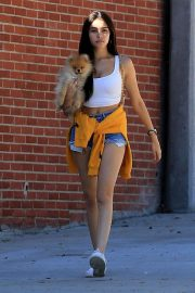 Madison Beer Out with Her Dog in West Hollywood 2018/10/16 5
