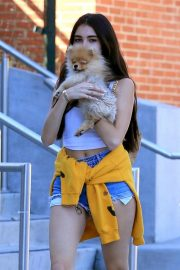 Madison Beer Out with Her Dog in West Hollywood 2018/10/16 6