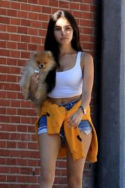 Madison Beer Out with Her Dog in West Hollywood 2018/10/16 10