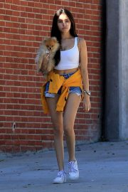 Madison Beer Out with Her Dog in West Hollywood 2018/10/16 12