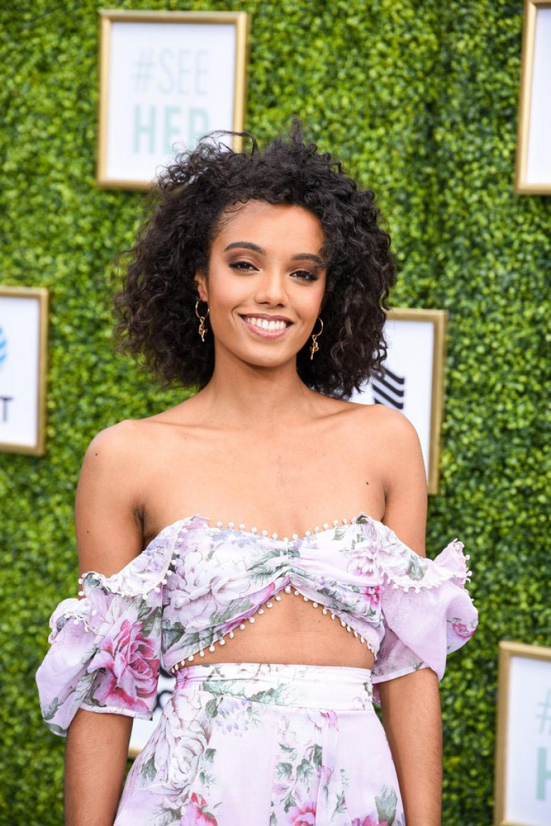 Maisie Richardson-Sellers at CW Network's Fall Launch in Burbank 2018/10/14 1