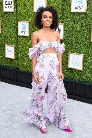 Maisie Richardson-Sellers at CW Network's Fall Launch in Burbank 2018/10/14 2