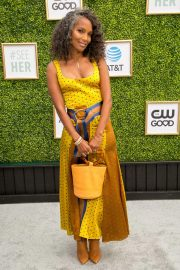 Mara Brock Akil at CW Network's Fall Launch in Burbank 2018/10/14 7