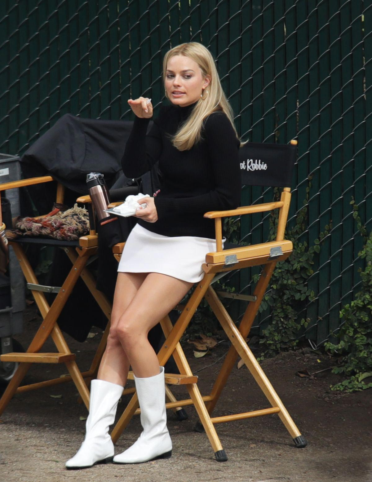 Margot Robbie on The Set of Once Upon a Time in Hollywood 2018/10/14 1