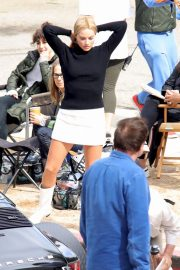 Margot Robbie on The Set of Once Upon a Time in Hollywood 2018/10/14 2