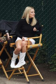 Margot Robbie on The Set of Once Upon a Time in Hollywood 2018/10/14 6