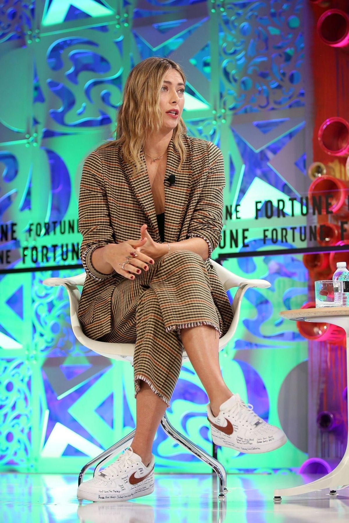 Maria Sharapova at Fortune Most Powerful Women Summit in Laguna Niguel 2018/10/02 1