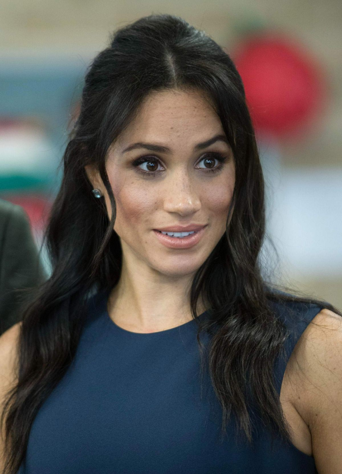 Meghan Markle and Prince Harry at MacArthur Girls High School in Sydney 2018/10/19 1