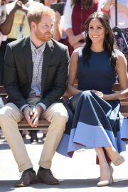 Meghan Markle and Prince Harry at MacArthur Girls High School in Sydney 2018/10/19 9
