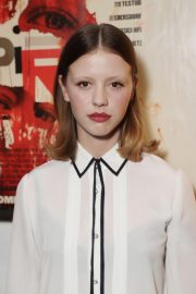 Mia Goth at Suspiria London Bafta Screening in London 2018/10/15 1