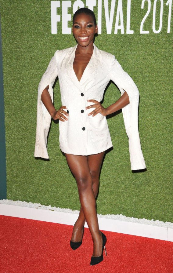 Michaela Coel at Been So Long Special Presentation at 2018 BFI London Film Festival 2018/10/12 1