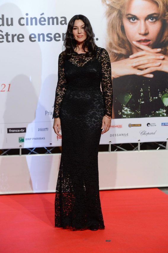 Monica Bellucci at 2018 Lumiere Festival Opening in Lyon 2018/10/13 1