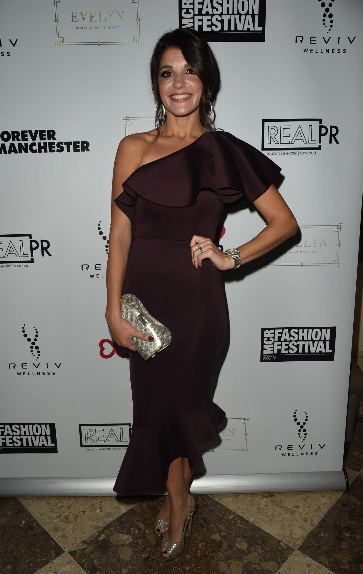 Natalie Anderson at Manchester Fashion Festival at Midland Hotel 2018/10/13 1