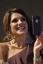 Natalie Anderson at Manchester Fashion Festival at Midland Hotel 2018/10/13 2