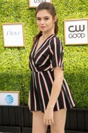 Nicole Maines at CW Network's Fall Launch in Burbank 2018/10/14 2