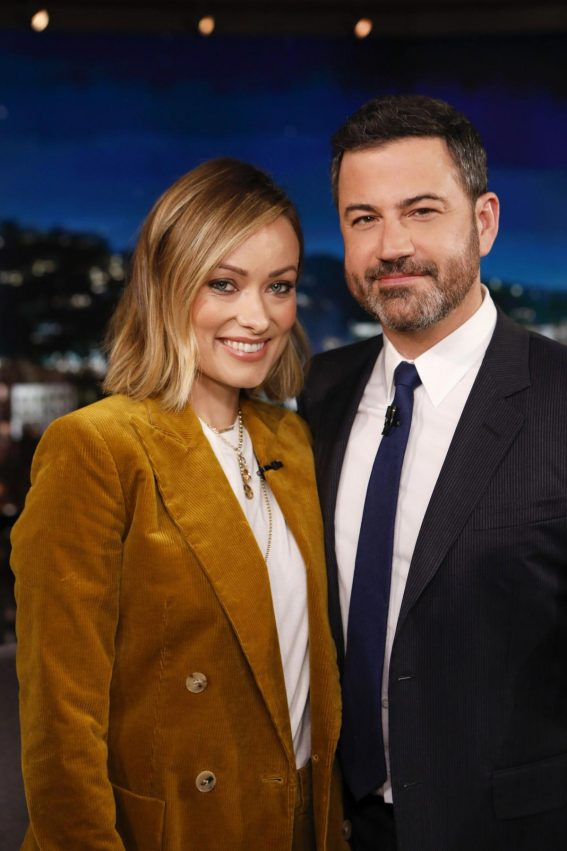 Olivia Wilde at Jimmy Kimmel Live! in Hollywood 2018/09/21 1