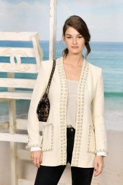 Ophelie Guillermand at Chanel Show at Paris Fashion Week 2018/10/02 1
