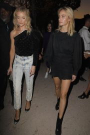 Rosie Huntington-Whiteley and Amber Valletta at Isabel Marant Fashion Show in Paris 2018/09/27 2