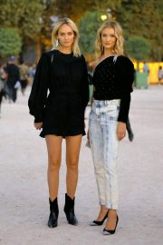 Rosie Huntington-Whiteley and Amber Valletta at Isabel Marant Fashion Show in Paris 2018/09/27 6