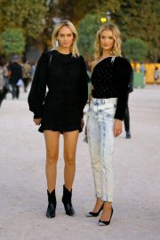 Rosie Huntington-Whiteley and Amber Valletta at Isabel Marant Fashion Show in Paris 2018/09/27 7