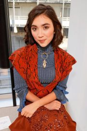 Rowan Blanchard at Chloe Show at Paris Fashion Week 2018/09/27 1