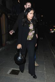 Salma Hayek at Annabel's Club in London 2018/09/30 7